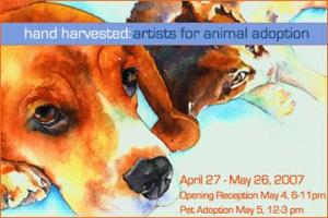 Hand Harvested Artists For Animal Adoption